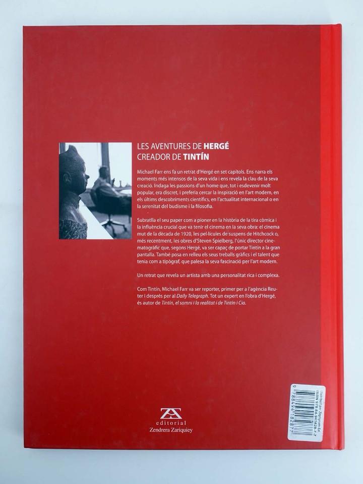 Cómics: LES AVENTURES DE HERGÉ CREADOR DE TINTIN (Michael Farr) Zendrera, 2009. OFRT antes 29E - Foto 2 - 207067433
