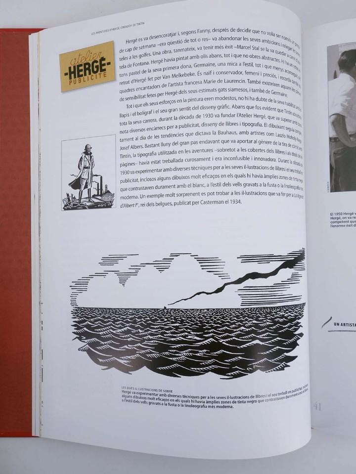 Cómics: LES AVENTURES DE HERGÉ CREADOR DE TINTIN (Michael Farr) Zendrera, 2009. OFRT antes 29E - Foto 4 - 207067433