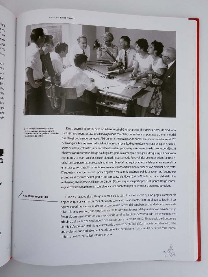Cómics: LES AVENTURES DE HERGÉ CREADOR DE TINTIN (Michael Farr) Zendrera, 2009. OFRT antes 29E - Foto 5 - 207067433