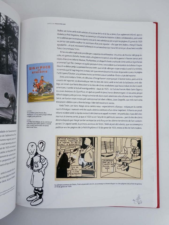 Cómics: LES AVENTURES DE HERGÉ CREADOR DE TINTIN (Michael Farr) Zendrera, 2009. OFRT antes 29E - Foto 6 - 207067433