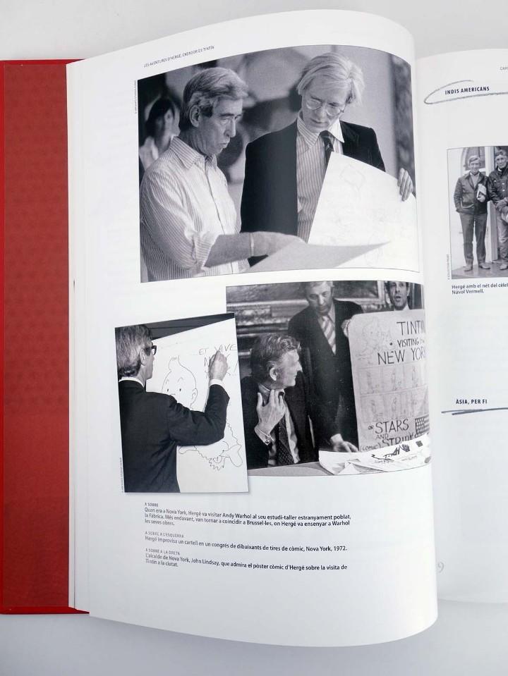 Cómics: LES AVENTURES DE HERGÉ CREADOR DE TINTIN (Michael Farr) Zendrera, 2009. OFRT antes 29E - Foto 7 - 207067433
