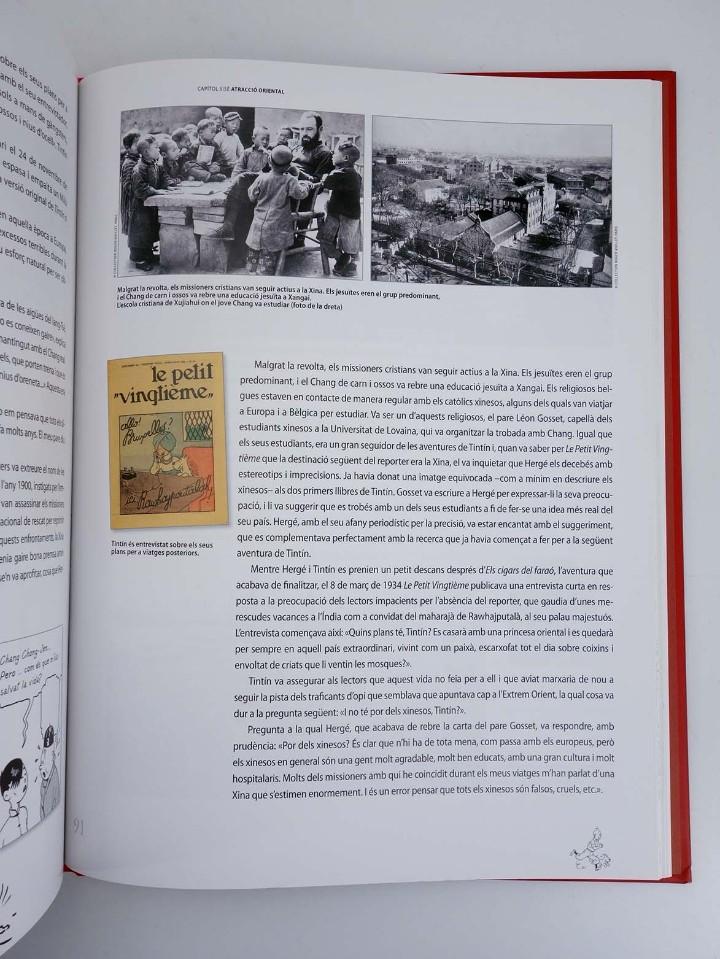 Cómics: LES AVENTURES DE HERGÉ CREADOR DE TINTIN (Michael Farr) Zendrera, 2009. OFRT antes 29E - Foto 8 - 207067433