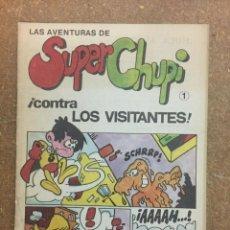Cómics: LAS AVENTURAS DE SUPER CHUPI Nº 1. Lote 168409500