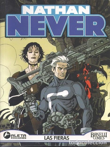 NATHAN NEVER ( ALETA ) ORIGINAL 2004 LOTE (Tebeos y Comics - Comics Colecciones y Lotes Avanzados)