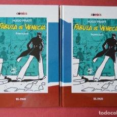 Cómics: FABULA EN VENECIA - 1ª Y 2ª PARTE - HUGO PRATT - COMICS - EL PAIS - Nº 4 Y Nº 5. Lote 168590212