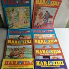 Cómics: HARA KIRI , HUMOR BESTIA LOTE DE 9 EJEMPLARES - EDITA: EDITORIAL IRU. Lote 168712368