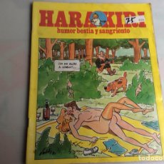 Cómics: HARA KIRI Nº 124 HUMOR BESTIA - EDITA: EDITORIAL IRU. Lote 168712756