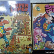 Cómics: SUPER LÓPEZ. LOTE DEL 1 AL 45. BRUGUERA Y EDICIONES B.. Lote 195369855
