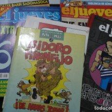 Cómics: EL JUEVES. LOTE DE 24 REVISTAS Y TOMOS. Lote 168761904