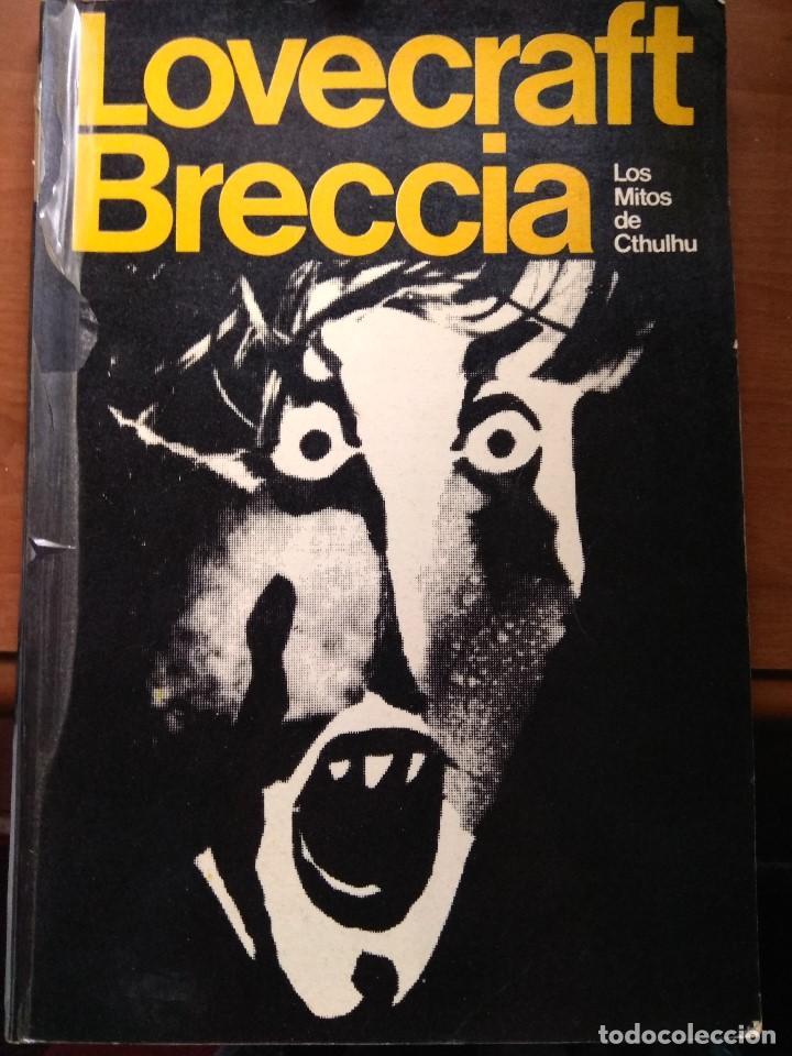 LOVECRAFT BRECCIA - LOS MITOS DE CTHULHU - EDICIONES PERIFERIA 1.975 (Tebeos y Comics - Comics otras Editoriales Actuales)