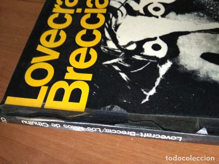 Cómics: LOVECRAFT BRECCIA - Los Mitos de Cthulhu - Ediciones Periferia 1.975 - Foto 2 - 168779624