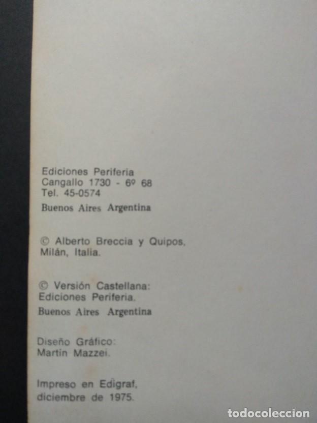 Cómics: LOVECRAFT BRECCIA - Los Mitos de Cthulhu - Ediciones Periferia 1.975 - Foto 8 - 168779624