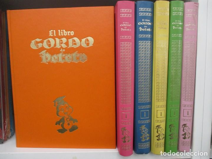 Cómics: COLECCION COMPLETA EL LIBRO GORDO DE PETE - 6 TOMOS - ENCUADERNACION ORIGINAL EDITORIAL - Foto 2 - 168841688