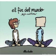 Cómics: CÓMICS. AJEDREZ. CHESS. EL FIN DEL MUNDO - MORTIMER (CARTONÉ) DESCATALOGADO!!! OFERTA!!!. Lote 169054276
