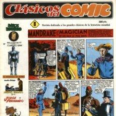 Cómics: CLÁSICOS DEL COMIC NÚMERO 8 (JOAQUÍN ESTEVE-COMPLOT, 1988). Lote 169055392