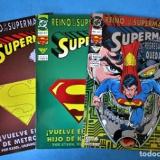 Cómics: SUPERMAN - TOMO 2, 3 Y 5 - REINO DE LOS SUPERMANES - DC VID 1994. Lote 169061436