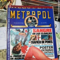 Cómics: METROPOL COLECCION COMPLETA 12 EJEMPLARES. Lote 169089472