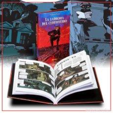 Cómics: CÓMICS. LA LADRONA DEL CEMENTERIO - OMOND/YOANN (CARTONÉ) DESCATALOGADO!!! OFERTA!!!. Lote 169092928