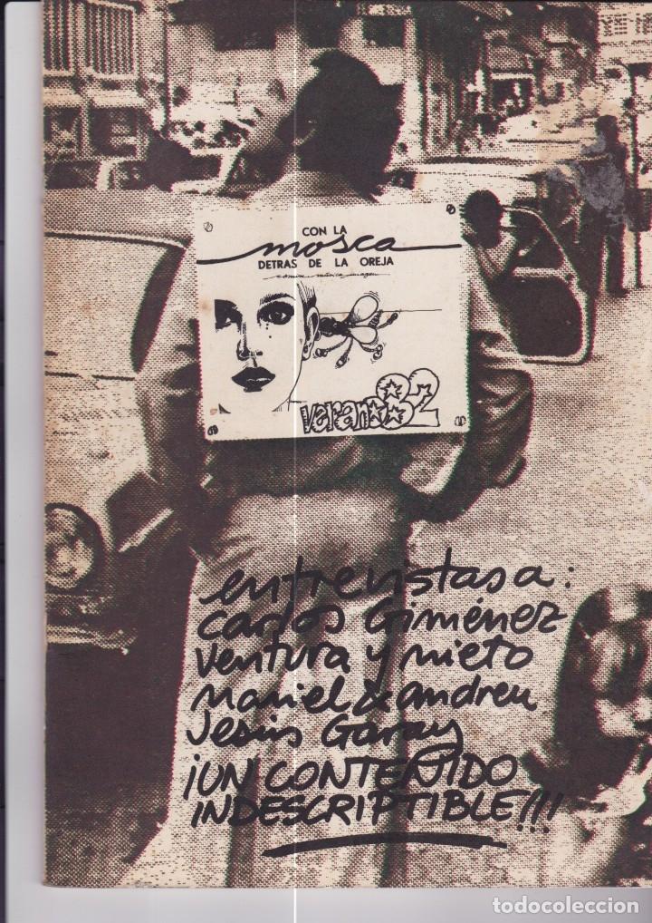 CON LA MOSCA DETRÁS DE LA OREJA. ESPECIAL VERANO 82 (Tebeos y Comics Pendientes de Clasificar)
