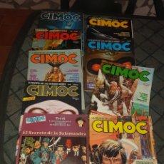 Cómics: LOTE DE 9 CIMOC. Lote 169121364