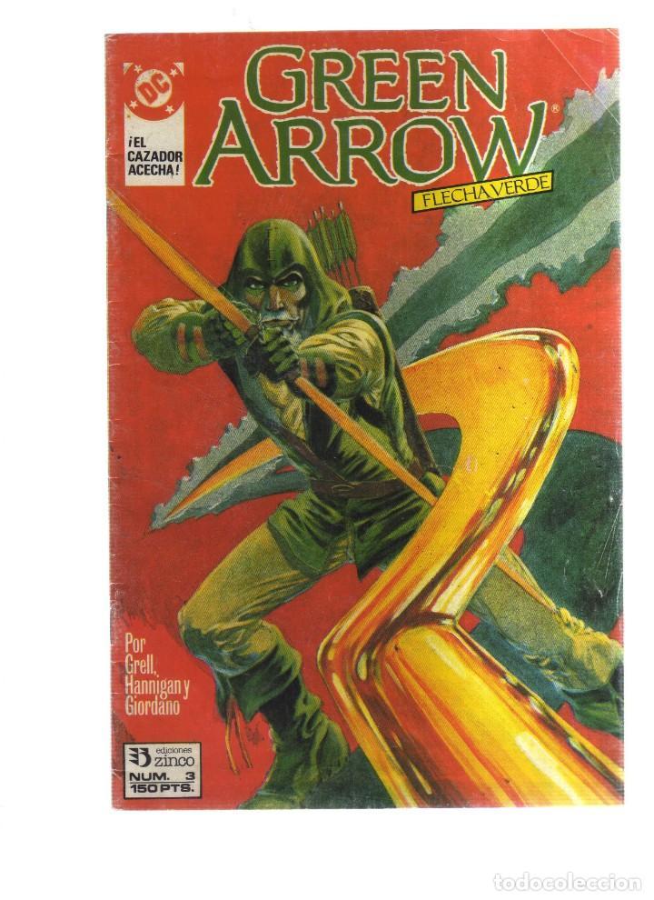 GREEN ARROW FLECHA VERDE N,3 (Tebeos y Comics - Comics otras Editoriales Actuales)