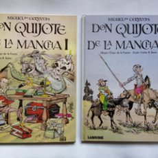 Cómics: DON QUIJOTE DE LA MANCHA. CERVANTES. LAROUSSE. ESPAÑA 1984. CHIQUI DE LA FUENTE. CARLOS SORIA. . Lote 169204500