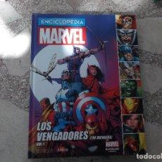 Cómics: ENCICLOPEDIA MARVEL Nº 2, LOS VENGADORES, VOL-1,ALTAYA ,TAPA DURA ,22X29, 72 PAGINAS. Lote 169268136