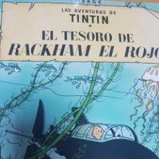 Cómics: LAS AVENTURAS DE TINTIN. EL TESORO DE RACKHAM EL ROJO.. Lote 169344120