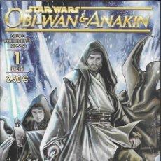 Fumetti: STAR WARS. OBI-WAN & ANAKIN. PLANETA DEAGOSTINI 2016. Nº 1. Lote 169369269