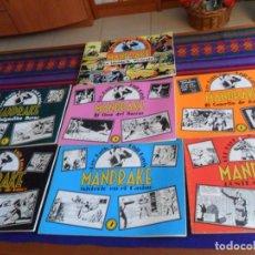 Cómics: GRANDES CLÁSICOS DE LOS CÓMICS DEL PASADO 8 10 12 16 21 23 25 MANDRAKE 1 2 3 4 5 6 7 1981 RÚSTICA BE. Lote 169452456
