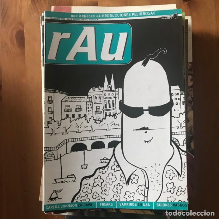 RAU AÑO 2 Nº 6 - DIC 1996 - PRODUCCIONES PELIGROSAS (Tebeos y Comics - Comics otras Editoriales Actuales)