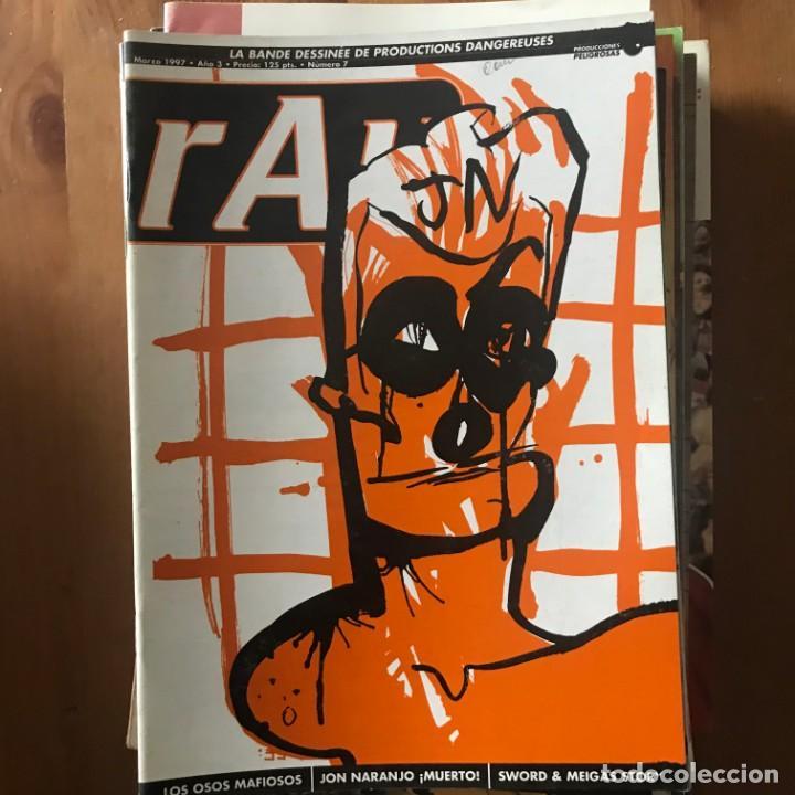RAU AÑO 3 Nº 7 - MARZO 1997 - PRODUCCIONES PELIGROSAS (Tebeos y Comics - Comics otras Editoriales Actuales)