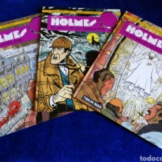 Cómics: SHERLOCK HOLMES.TIMUN MAS.COLECCION COMPLETA (3.VOLUMENES)EXCELENTE ESTADO.DIFICIL. Lote 169583274