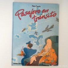 Cómics: ALBUMES DE CAIRO 3 PASAJERO EN TRANSITO, PERE JOAN. NORMA EDITORIAL 1984 TAPA DURA. Lote 169718768