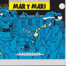 Cómics: MAR Y MARI. FIRMADO Y DEDICADO POR EL AUTOR. Lote 169833188
