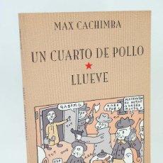 Cómics: COL. SOLYSOMBRA 11. UN CUARTO DE POLLO. LLUEVE (MAX CACHIMBA) DE PONENT, 2002. OFRT ANTES 13E. Lote 169841529