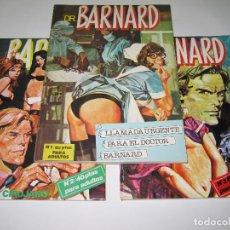 Cómics: COLECCIÓN COMPLETA - DR. BARNARD - NÚM. 1 - 2 - 3 - 1976 - ED. ACTUALES, S.A. Lote 196494876
