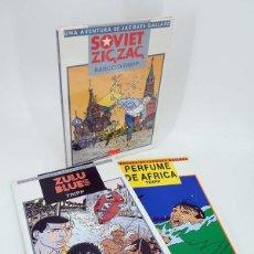 Fumetti: JACQUES GALLARD. SOVIET ZIG ZAG ZULU BLUES EL PERFUME DE AFRICA (BARCELO / TRIPP) IRU, 1987. OFRT. Lote 186461187