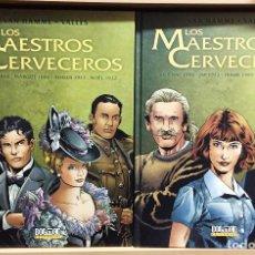 Cómics: LOS MAESTROS CERVECEROS TOMOS 1 Y 2, DE VAN HAMME Y VALLÈS. DOLMEN EDITORIAL . Lote 170020680