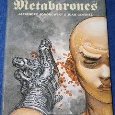Cómics: LA CASTA DE LOS METABARONES - INTEGRAL - JODOROWSKY - GIMENEZ - RESERVOIR GRÁFICA (2010). Lote 170039580