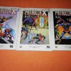 Cómics: PATRULLA X. GRANDES HEROES DEL COMIC. BIBLIOTECA EL MUNDO. Nº 1 ,2 Y 3.. Lote 178715546