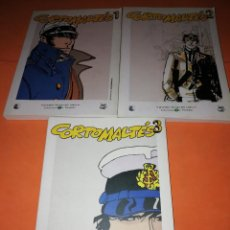 Cómics: CORTO MALTES . GRANDES HEROES DEL COMIC. BIBLIOTECA EL MUNDO. Nº 1 ,2 Y 3.. Lote 170066268
