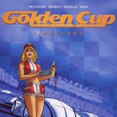Cómics: GOLDEN CUP - COLECCIÓN COMPLETA 3 NÚMEROS - GLÉNAT. Lote 170081504