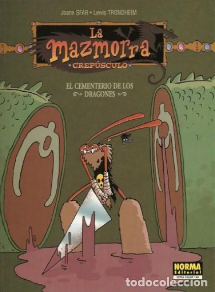 LA MAZMORRA CREPÚSPULO - EL CEMENTERIO DE LOS DRAGONES - NORMA (Tebeos y Comics - Comics otras Editoriales Actuales)