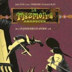Cómics: LA MAZMORRA AMANECER - UN INJUSTICIERO EN APUROS - NORMA. Lote 170083268