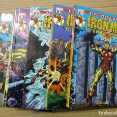 Cómics: IRON MAN. BIBLIOTECA MARVEL. COMPLETA EN 28 TOMOS. Lote 170111485