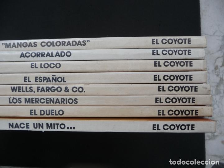 Cómics: COLECCIÓN EL COYOTE. FORUM. COMPLETA EN 8 TOMOS - Foto 2 - 170134892