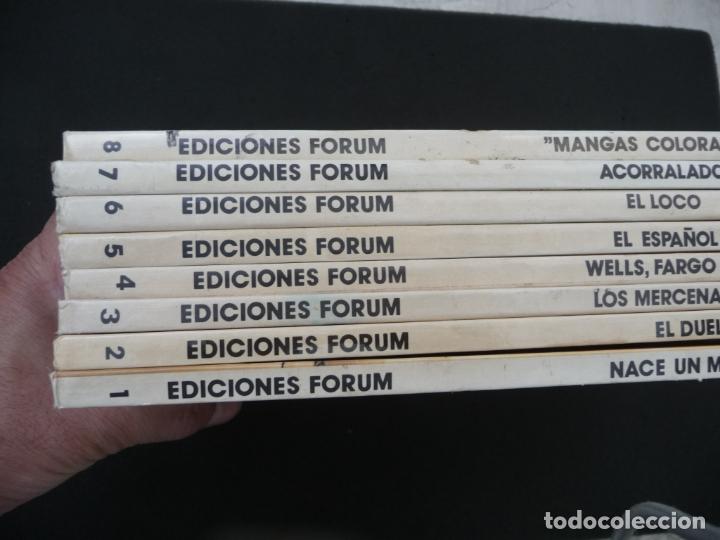Cómics: COLECCIÓN EL COYOTE. FORUM. COMPLETA EN 8 TOMOS - Foto 3 - 170134892