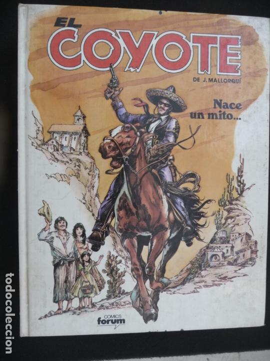 Cómics: COLECCIÓN EL COYOTE. FORUM. COMPLETA EN 8 TOMOS - Foto 6 - 170134892