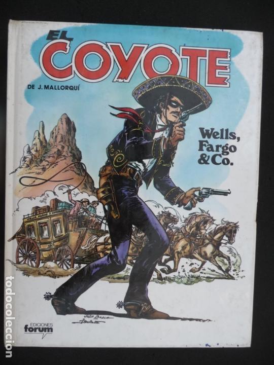Cómics: COLECCIÓN EL COYOTE. FORUM. COMPLETA EN 8 TOMOS - Foto 9 - 170134892